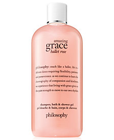 philosophy Amazing Grace Ballet Rose Shampoo, Bath & Shower Gel, 16-oz.