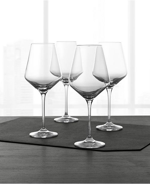 Hotel Collection Large Wine Glasses, Set of 4, Created for Macy's & Reviews - Glassware - Dining - Macy's