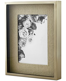 "CLOSEOUT! Martha Stewart  Collection Shadowbox Linen 5"" x 7"" Frame, Created for Macy's"