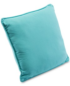 "CLOSEOUT! Zuo  Canvas 17.5"" Square Decorative Throw Pillow"