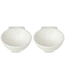 Cannon Street Nautical Accents Shell Bowls, Set of 2