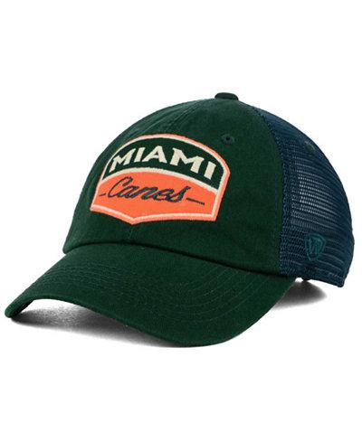 Top of the World Miami Hurricanes Society Adjustable Cap