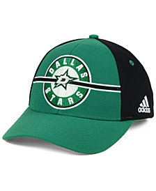 adidas Dallas Stars Circle Adjustable Cap