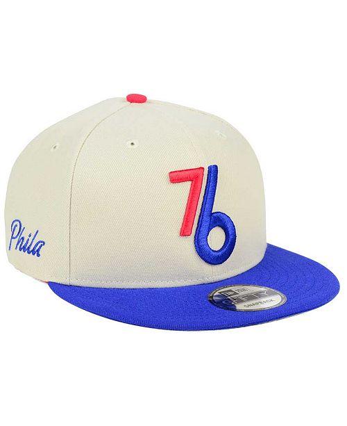 new style 28bbe f34b7 ... New Era Philadelphia 76ers City Series 9FIFTY Snapback Cap ...