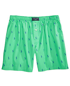 Polo Ralph Lauren Men's Printed Woven Boxers
