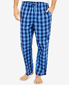 Men's Buffalo Plaid Cotton Pajama Pants