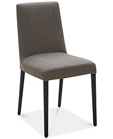 Gatlin Upholstered Dining Chair (Charcoal), Created for Macy's