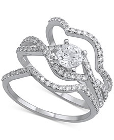 Diamond Bridal Set (1-1/4 ct. t.w.) in 14k White Gold