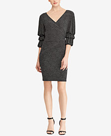 Lauren Ralph Lauren Polka-Dot Slim Fit Dress