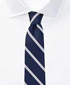 Lauren Ralph Lauren Men's Striped Silk Tie