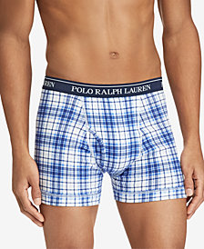 Polo Ralph Lauren Men's 3-Pk. Classic Knit Cotton Boxers