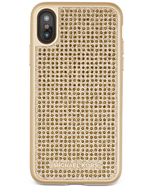 MICHAEL Michael Kors Studded iPhone X Case
