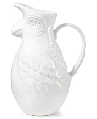 CLOSEOUT! Tropicalia Parrot Pitcher, Created for Macy's