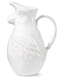 CLOSEOUT! The Cellar Tropicalia Parrot Pitcher, Created for Macy's