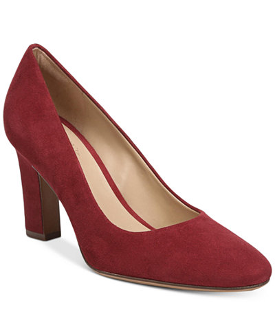 Womens Shoes Naturalizer Michelle Red Glory Suede
