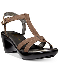 Callisto Kali Platform Wedge Sandals, Created for Macy's