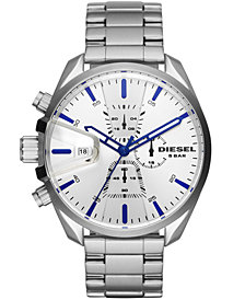 Diesel Men's Chronograph MS9 Chrono Stainless Steel Bracelet Watch 47mm