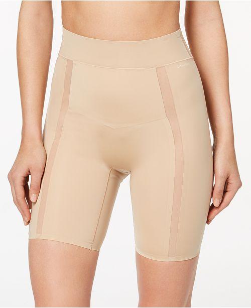 48e8bf404c Calvin Klein Women s Moderate-Control Thigh Shaper Shorts QF4264 ...