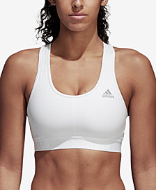 adidas AlphaSkin Racerback Medium-Impact Sports Bra