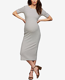 Rachel Pally Maternity Elbow-Length Sheath Dress