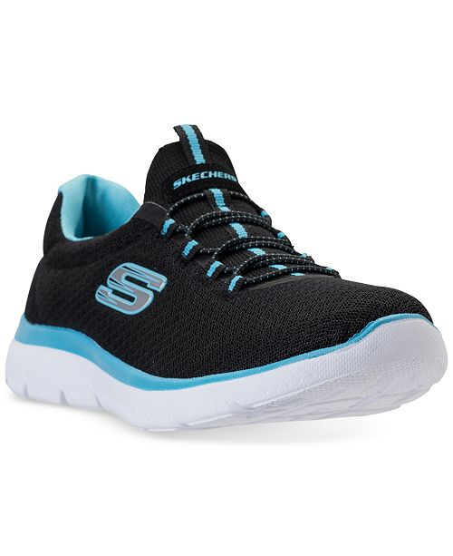 47c02034005b ... Skechers Women s Summits Wide Width Athletic Sneakers from Finish ...