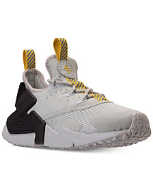 Nike Big Boys'   Huarache Drift Casual Sneakers from Finish Line