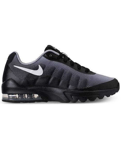 7ae4cd4e00 ... Nike Little Boys' Air Max Invigor Print Running Sneakers from Finish ...