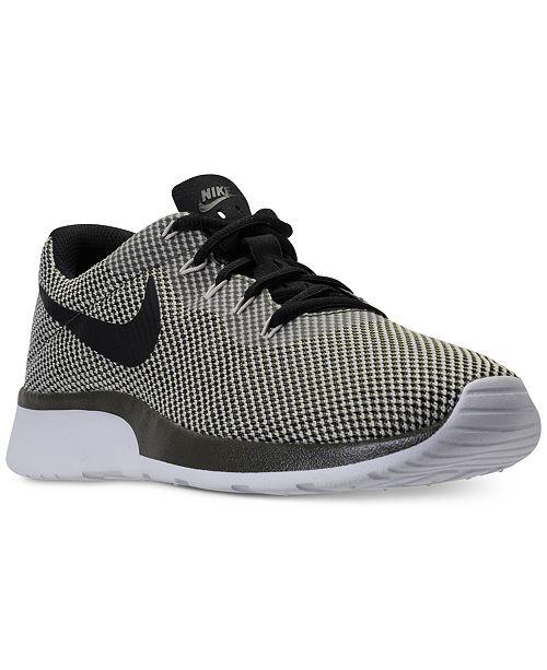 315e0b0a916fe Nike Men s Tanjun Racer Casual Sneakers from Finish Line ...