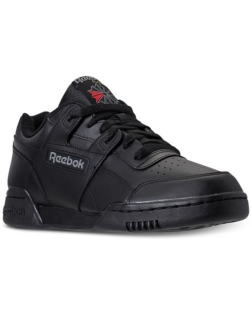 d3652b9c5dd86 Reebok Men s Workout Plus Casual Sneakers from Finish Line ...