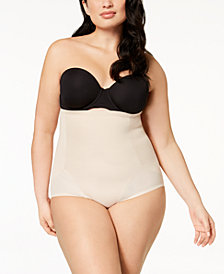 Miraclesuit Women's  Cool Choice Plus Size Extra-Firm-Control High-Waist Brief 2405