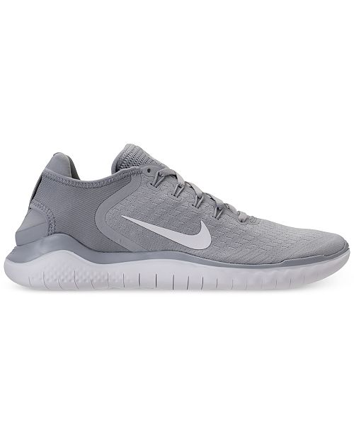 ea1e7382757a Nike Men s Free Run 2018 Running Sneakers from Finish Line   Reviews ...