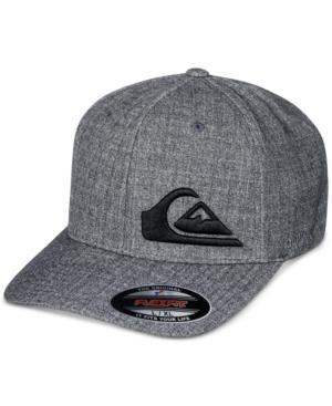 Quiksilver MEN'S FINAL LOGO FLEXFIT HAT