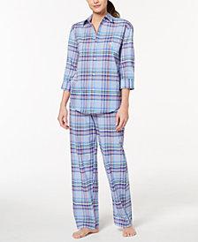 Lauren Ralph Lauren Catalina Classic Plaid Pajama Set