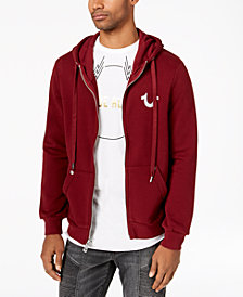 True Religion Men's Front-Zip Hoodie