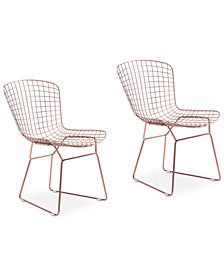 Zia Dining Chair (Set Of 2), Quick Ship