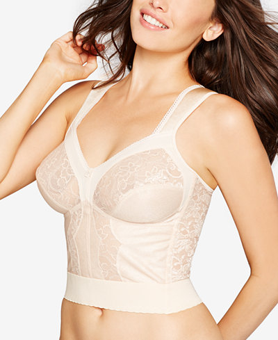 Carnival Wide Band Shoulder Strap Longline Bra 730