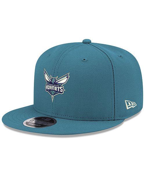 official photos 93ab5 7e815 ... New Era Boys  Charlotte Hornets Basic Link 9FIFTY Snapback ...