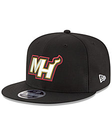 New Era Boys' Miami Heat Basic Link 9FIFTY Snapback Cap