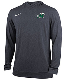 Nike Men's Tulane Green Wave Dri-Fit Hoodie
