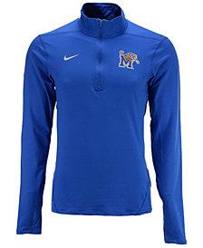 Nike Men's Memphis Tigers Solid Dri-FIT Element Quarter-Zip Pullover
