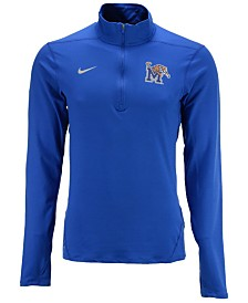 Nike Men's Memphis Tigers Solid Dri-FIT Element Quarter-Zip Pullover