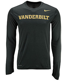 Nike Men's Vanderbilt Commodores Dri-FIT Legend Wordmark Long Sleeve T-Shirt