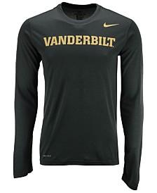 Nike Men's Vanderbilt Commodores Dri-FIT Legend Wordmark Long Sleeve T-Shirt