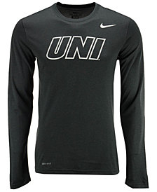 Nike Men's Northern Iowa Panthers Dri-FIT Legend Wordmark Long Sleeve T-Shirt