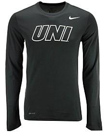 Nike Men's Northern Iowa Panthers Dri-FIT Legend Wordmark Long Sleeve T-Shirt