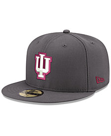 New Era Indiana Hoosiers Shadow 59FIFTY Fitted Cap