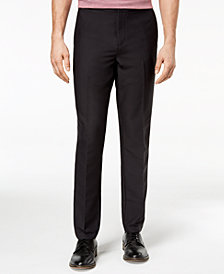 Michael Kors Men's Athleisure Stretch Flat-Front Pants