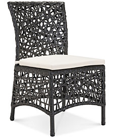 Ferney Outdoor Dining Chair, Quick Ship