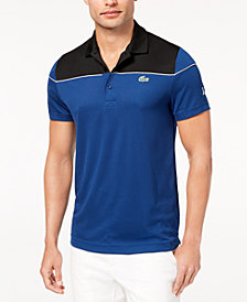 Lacoste Men's Ultra-Dry Colorblocked Polo