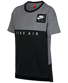 Nike Air Graphic-Print Cotton T-Shirt, Big Boys